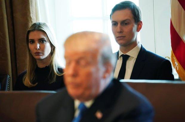 Trump'ın kızı ile damadının Beyaz Saray'ı terk etmesini istediği iddia edildi