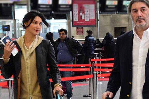 İşadamı Mehmet Dereli ile sevgilisi Elaine Fonseca Miami'ye gidiyor - Magazin haberleri