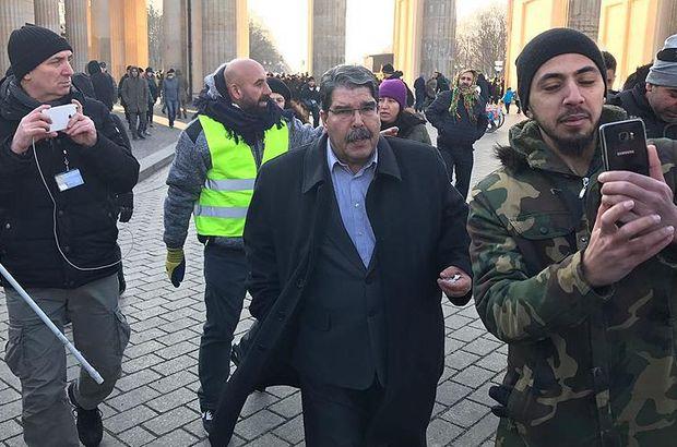 Salih Müslim terör örgütü PKK mitingine katıldı