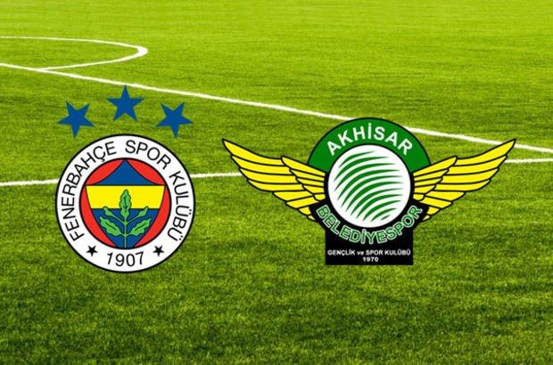 Fenerbahçe Akhisarspor maçı muhtemel 11'ler!