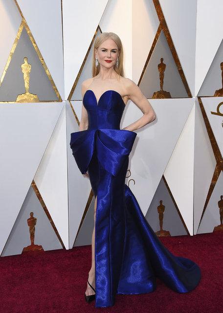 2018 Oscar Ödül Töreni kırmızı halısından görüntüler...