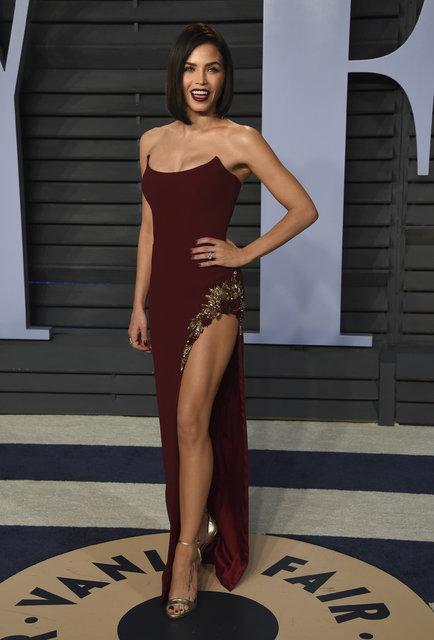 Vanity Fair Oscar partisinden görüntüler