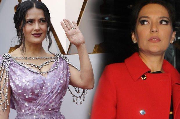 Demet Akalın'dan Salma Hayek'in elbisesine şaşırtan yorum - Magazin haberleri