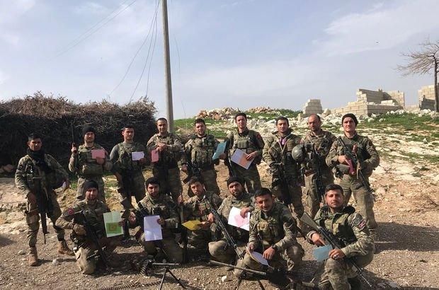 Afrin'deki JÖH'ten mesaj var!