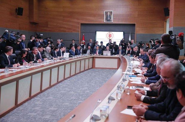 Seçim ittifakı teklifi Anayasa Komisyonu'nda! 10. madde kabul edildi