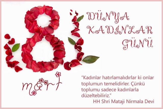 Kadınlar Günü mesajları 2018! En güzel Kadınlar Günü resimli sözleri... 8 Mart Dünya Kadınlar Günü!