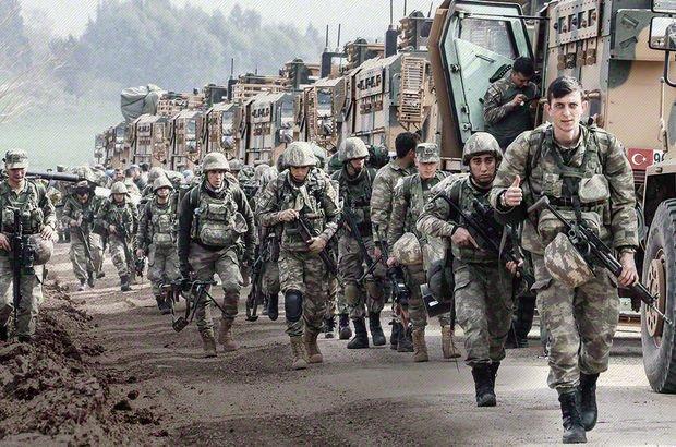 Son dakika: Afrin'in merkezine 8 kilometre kaldı