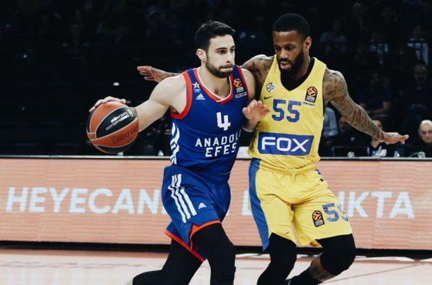 Anadolu Efes 81-94 Maccabi FOX