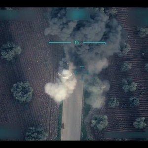 BOMBALI TUZAK KURMUŞLAR! TSK'NIN KEŞİF YAPAN İHA'SI GÖRÜNTÜLEDİ