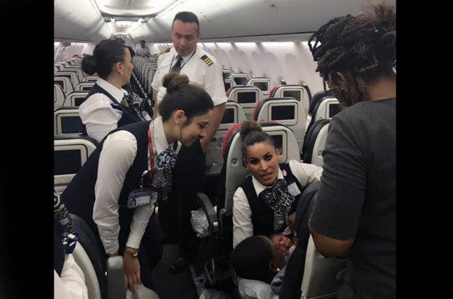 ABD'li yolcu otelde tek başına doğurdu, THY personeli yardıma koştu!