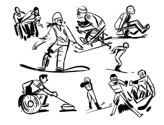 Paralimpik 2018 Doodle oldu! Bu sene için Paralimpik 2018 oyunları başladı... Paralimpik 2018 DOODLE!