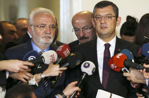 CHP AK Parti Mustafa Elitaş özgür özel seçim güvenliği heyeti