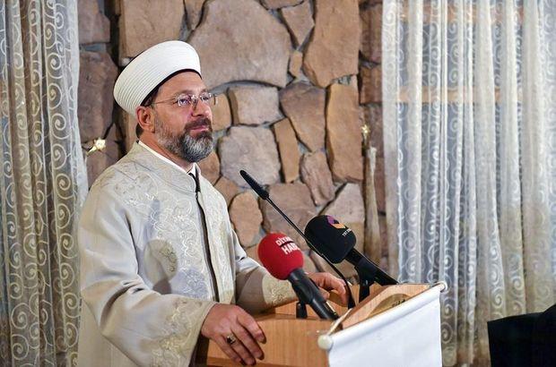 Diyanet İşleri Başkanı Ali Erbaş Hakkari'de kanaat önderleri ile buluştu