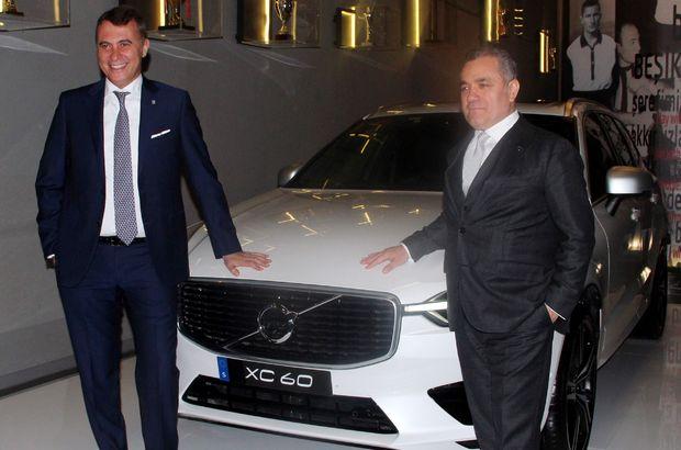 Beşiktaş'tan Volvo ile sponsorluk anlaşması