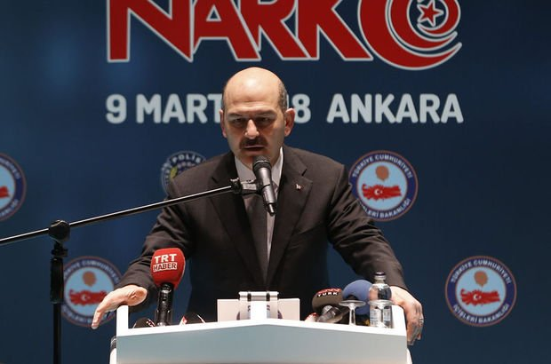İçişleri Bakanı Süleyman Soylu: Afrin Harekatı, uyuşturucuya darbe vuracaktır