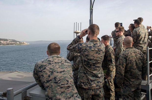 ABD donanmasından 'Dur yolcu' paylaşımı!