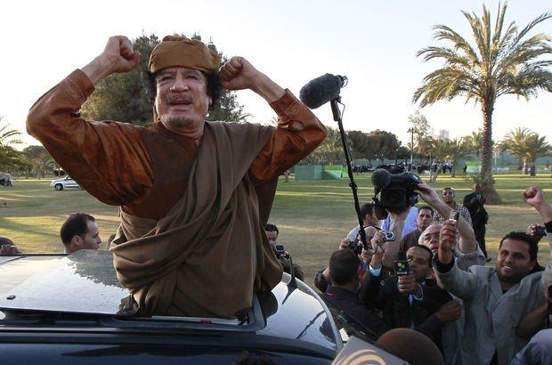 Kaddafi'nin 10 milyar Eurosu kayıp!