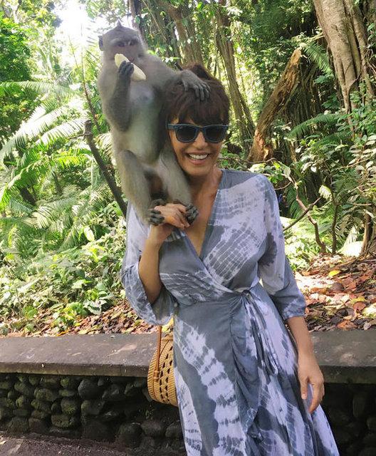 Ayşegül Aldinç, Bali'de ruhunu dinlendirdi - Magazin haberleri