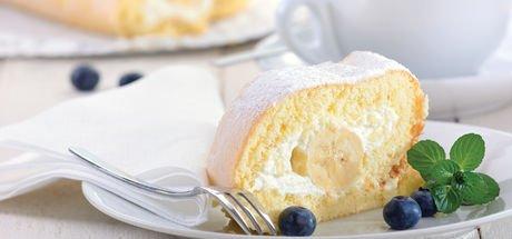 Muzlu rulo pasta nasıl yapılır? Muzlu rulo pasta tarifi ve malzemeleri