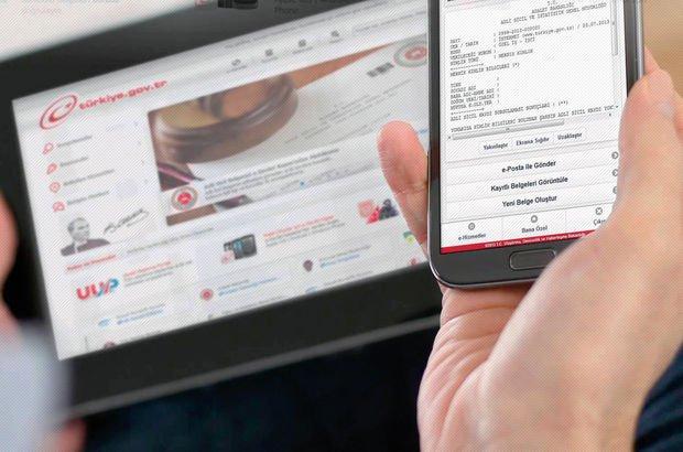 E-Devlet sunulan hizmetler