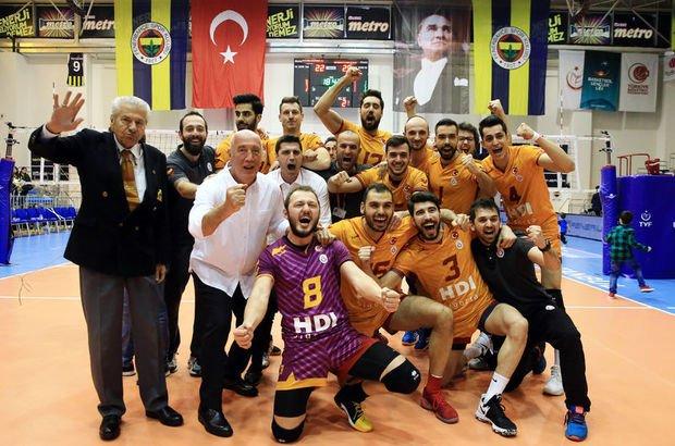 Fenerbahçe Galatasaray voleybol