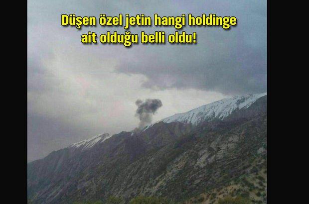 Son dakika: Özel Türk jeti İran'da düştü!