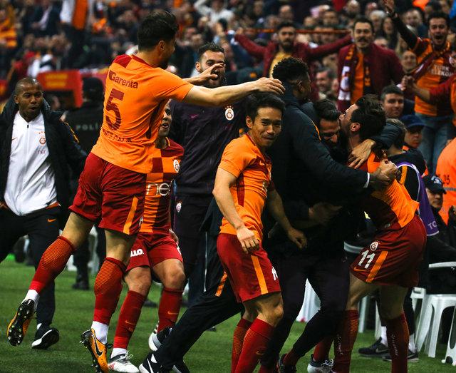 Galatasaray Konyaspor maçında görülmemiş olay: Stat sallandı!