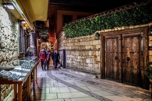 """Antalya'nın geçmişe açılan kapısı """"Kaleiçi"""""""