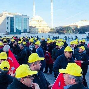 İSTANBUL TAKSİCİLER ESNAF ODASI BAŞKANI EYÜP AKSU'DAN TEHDİT!