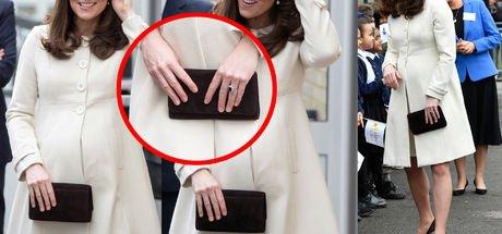 Kate Middleton'ın parmakları neden aynı uzunlukla?