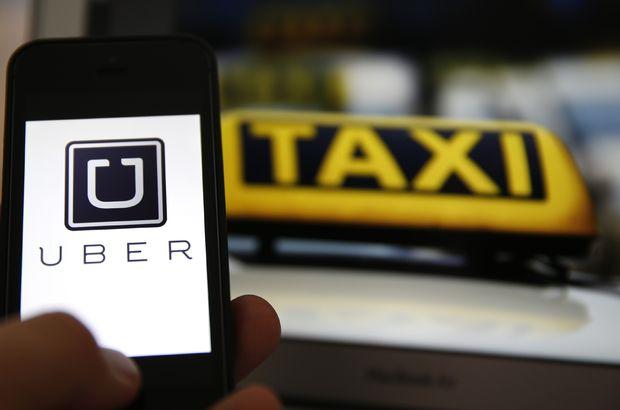 sarı taksi-UBER kavgası