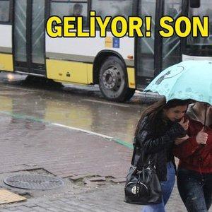 METEOROLOJİ'DEN SAATLİK UYARI!