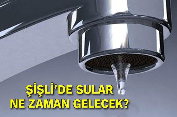 Şişli su kesintisi