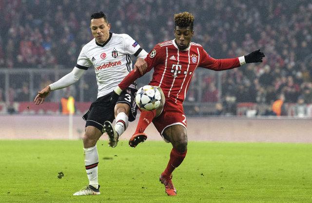 Beşiktaş - Bayern Münih maçının 11'leri