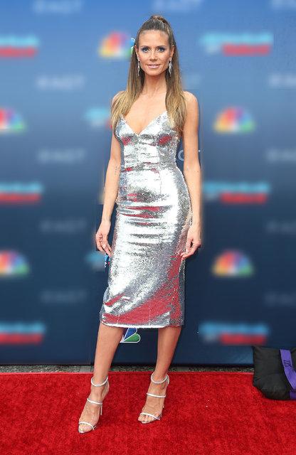 Heidi Klum yıldız gibi parlıyor - Magazin haberleri