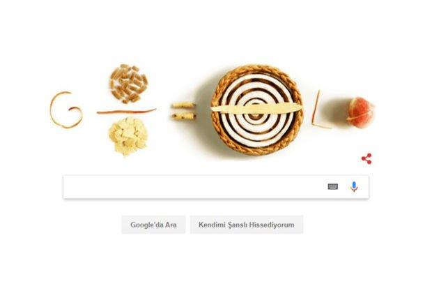 Google'dan Pi Günü'ne özel doodle