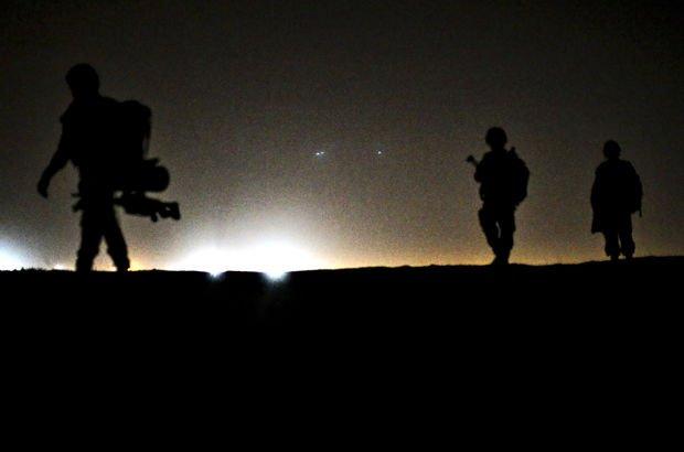 Sincar'da 7 noktaya Irak'la operasyon