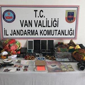 VAN'DA TERÖR ÖRGÜTÜ PKK'YA YÖNELİK OPERASYON