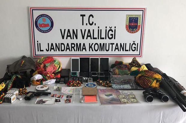 Van'da terör örgütü PKK'ya yönelik operasyon