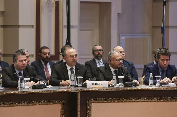 Astana'da üç dışişleri bakanından önemli açıklamalar!