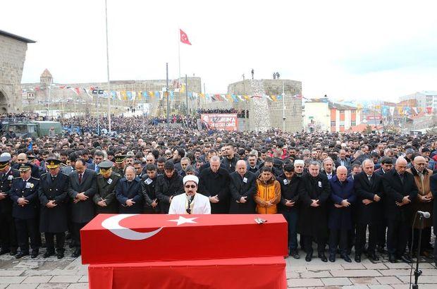 Afrin şehidi Muhammed Kır son yolculuğuna uğurlandı