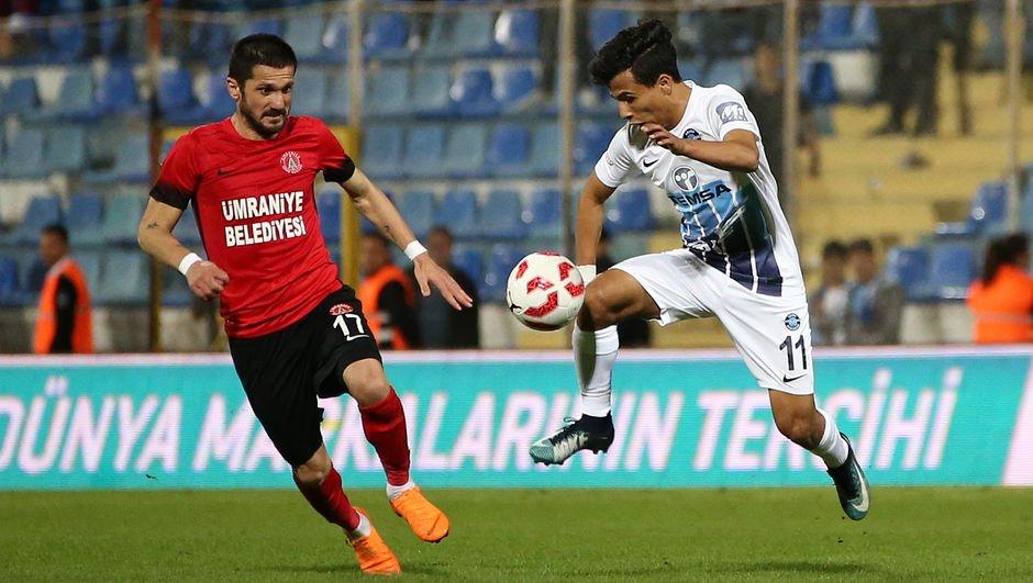 Ümraniyespor'a tek gol yetti