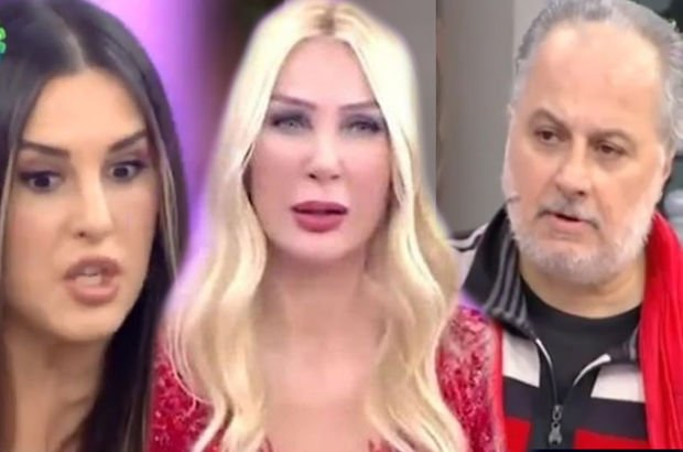 Ebru Destan, Bilal Özcan'ın sorusuna sinirlendi: Evli barklı kadınım! - Magazin haberleri