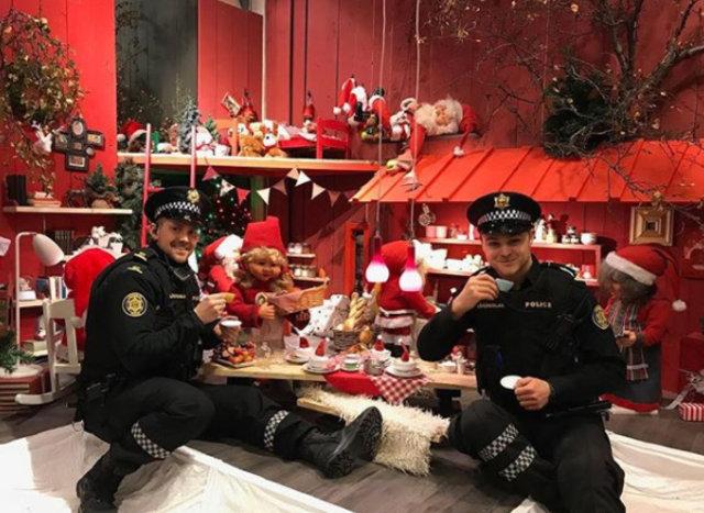 İzlanda'nın polisleri sosyal medyada ilgi görüyor