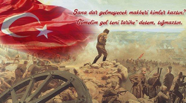 18 Mart Çanakkale Zaferi mesajları! 103. yıla özel Çanakkale Zaferi şiirleri ve sözleri... Şehitleri anma günü!