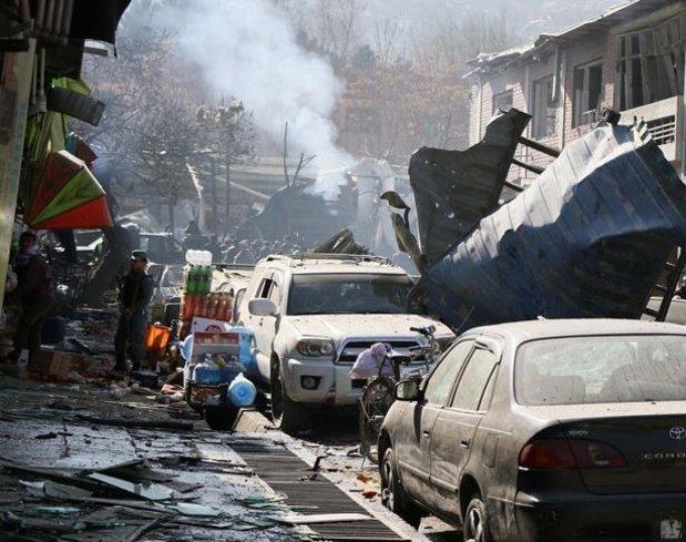 Afganistan'da bomba yüklü araçla saldırı: 3 ölü, 4 yaralı