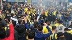 Fenerbahçe taraftarı derbiye hazır!