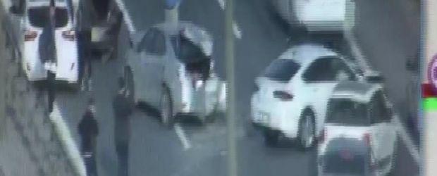 TEM Otoyolu'nda feci kaza! 3 şerit trafiğe kapandı