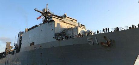 ABD Deniz Kuvvetleri 6. Filosu'na ait savaş gemisi Gürcistan'da