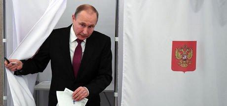 Rusya'da başkanlık seçimleri başladı, gözler Putin'in üzerinde!
